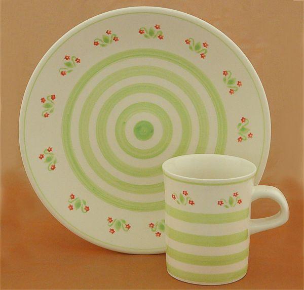 heise original bunzlau keramik geschirr handgefertigt in deutschland kaffeegeschirr. Black Bedroom Furniture Sets. Home Design Ideas